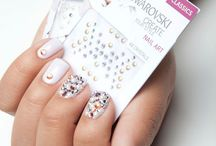 Swarovski Crystal and Crystal Pixie Nail Art / Get inspired with this gallery of beautiful nail art designs created with Swarovski crystals and/or Crystal Pixie.   Find nail art ideas for every occasion and every style with these looks.