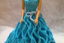 Crochet Doll Dress / Crochet doll dress