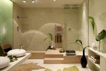 Neonaturaleza by Barasona / Sofisticado baño donde vivimos una naturaleza inventada para recuperar el ritmo natural de las cosas. En Casa Decor Barcelona 2011.