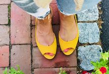 Style / These bright yellow shoes are ready for summer!