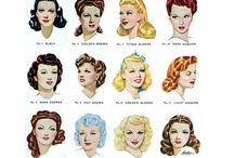 40s hairstyles and setting patterns