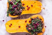 Autumn Recipes / Kale & Pumpkin