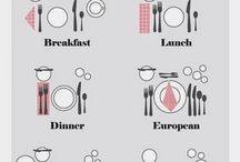 mesas, servilletas, ECT.