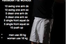 Calle Workout / allenamenti con attrezzi e a corpo libero da provare .....