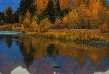 Wyoming Montana yellowstone