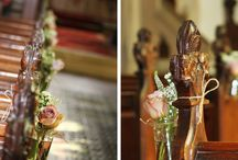Venue Flowers by A Vintage Wedding