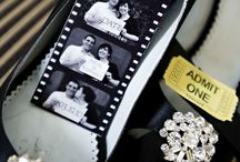 Vintage Hollywood / The board used for Andrew and Claire's wedding