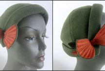 Mad Hatter / Chapeaus, hats, caps - whatever you call them, hats set off your outfit and are indeed a true fashion statement! Vintage hats for men and women add just the right touch to trending styles.