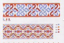Cross stitch / ΣΤΑΥΡΟΒΕΛΟΝΙΕΣ  / by Frosso Val