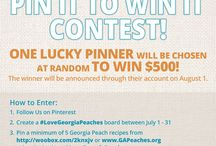 Contests / by Georgia Peaches