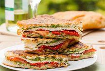 sandwiches / by Elizabeth Heidrich Shafer