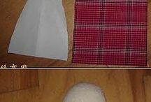 текстильные игрушки