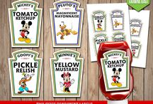 Peanuts Mickey Mouse Party