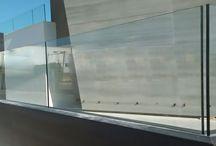 Barandas de vidrio / Barandas minimalistas, con diseño personalizado y exclusivo, transparencia y amplitud, de facil limpieza.  Certificado de Instalación Vemax, perfil U embutido al forjado, vidrio laminado 10+10, protección antilesiones.  Un resultado único para tu vivienda.  www.vemax.es