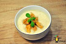 ZUPY KREM / Spis przepisów o zupach krem