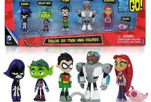 Teen Titans Go! / Figuras de los Personajes de los Jovenes Titanes en Acción! #TeenTitansGo #Robin #Raven #BeastBoy #Cyborg #Starfire #Silkie #ChicoBestia #CosasDeChicos #JovenesTitanes