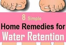 water retention remedies