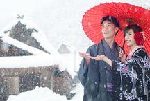 JAPAN SNOW Wedding / https://www.facebook.com/omotenashi.nico http://www.goodsmile-nico-tw.com