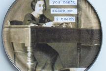 "Teaching / ""The mediocre teacher tells. The good teacher explains. The superior teacher demonstrates. The great teacher inspires.""   William Arthur Ward"