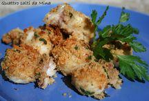 CUCINA 3 secondi di pesce, carne e verdure...e contorni