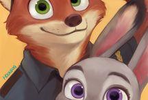 I think I ship a fox and a bunny
