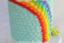 Rainbows and Sunshines Baby / For the colorful baby in your life