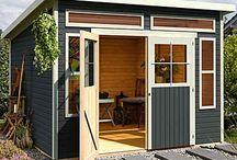 HütteSchuppenGartenhaus selber bauen