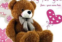 teddy bear / wish you happy teddy day. happy teddy day greetings with images. teddy day quotes for girl friend and boy friend. happy teddy day wishes quote images name editor. heart shape teddy bear