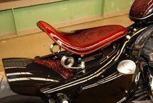 "Sportster Harley ""Vulcan Bobber"" by Vida Loca Choppers / Sportster Harley Vulcan Bobber Designed by Vida Loca Choppers in 2010"