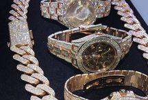 #luxury watches, MK, Rolex..