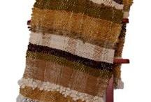 ponchos y lana cruda