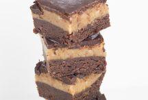 Raw Caramel Brownie Slice