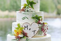 wedding cakes rustic style