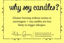 candles / soy candles