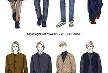 Fashion Illustration | Ideas | Male / Male fashion illustration ideas
