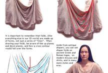 drappery tuts