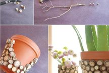 DIY Pot Ideas / Saksı