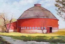 Nice Bahns and Rustic Barns / Old and new / by Mark Stone