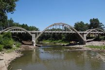 Historic Bridges in Kansas / Interesting historic bridges around the state