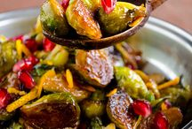 Garden veges - brussel sprouts