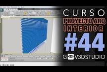 3ds max Proyecto Arquitectura Interior