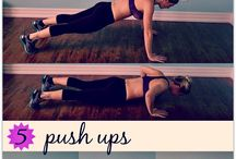 Work out tone butt back and abs / by Pine-Cone Accommodations