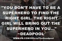 Awesome superhero quotes