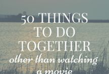 COUPLES-Things to do / Activities besides a movie!