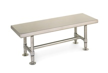 Cleanroom / Garment Racks     Tables     Gowning Benches     Bootie/Shoe Storage     Utility Carts
