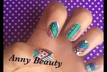 Nails aztecas