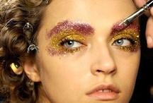 Glitter!!! / makeup