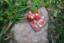 Miniature food / Polymer clay fimo miniature food