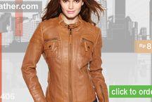 Jaket Kulit Wanita / Jaket Kulit Wanita dari RA Leather