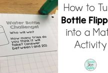 Maths - flipping the bottle